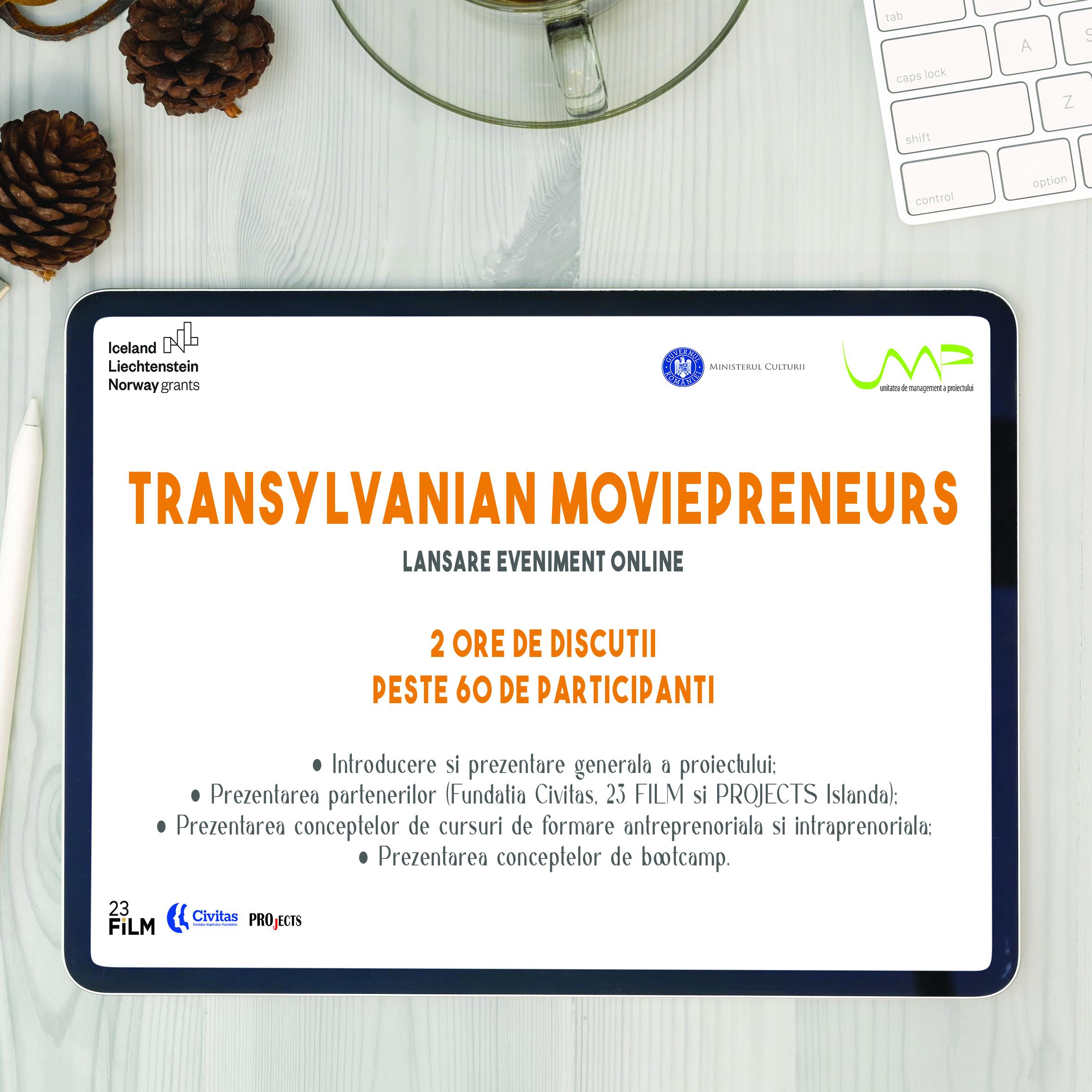 TRANSYLVANIAN MOVIEPRENEURS